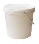 Krmítko kyblík obsah 10 l plastový bílý