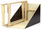 Stojan odkládací pro 6 rámků dřevěný