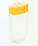 Obal na med MED plastový s gumou na 300 g medu