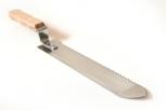 Nůž odvíčkovací zubatý nerez 28 cm