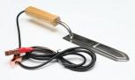 Nůž odvíčkovací el. s dřevěnou ručkou 25 cm 12 V