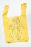 Taška plastová žlutá s méďou slabá