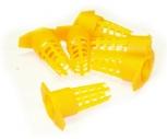 Klícka ochranná na matečník oranžová (10 ks)