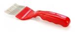Vidlička odvíčkovací 19 lom. nerez. jehel červená