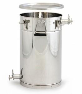 Čeřící a plnící nádoba na 50 kg  medu NEREZ