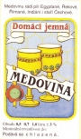 Etikety na medovinu kreslená