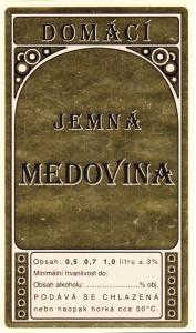 Etikety na medovinu