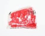 Mezerníky barevné červené shřebíčky (100 ks)