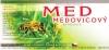 Etikety samolepící na sklenice motiv MEDOVICOVÝ