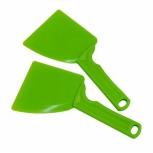 Stěrka na med plastová s rukojetí barevná