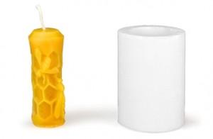 Forma silikonová BE-EQ® Svíčka se včelou 7,5 cm