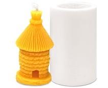 Forma silikonová BE-EQ® Včelí úl 9 cm