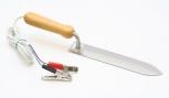 Nůž odvíčkovací el. s dřevěnou ručkou 23 cm 12 V