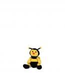 Včelka plyšová 20 cm