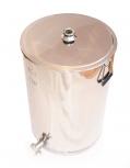 Stáčecí nádoba na 50 kg medu nerezová