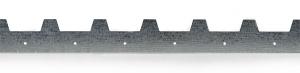 Hřeben pozinkovaný pro rámky 403x26x11 mm