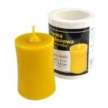 Forma silikonová svíčka hladká nízká 7,5 cm