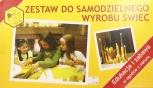 Souprava na výrobu svíček žlutá