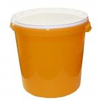 Nádoba na med do 40 kg medu plastová žlutá