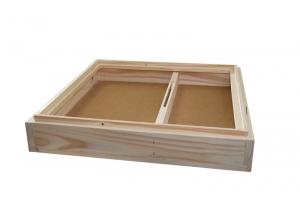 Krmítko stropní dřevěná část na 11 rámků 39x 3 cm