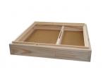 Krmítko stropní dřevěná část na 11 rámků 42x 2 cm