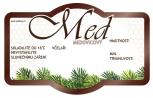 Etikety samolepící na sklenice C2 MEDOVICOVÝ