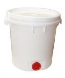 Nádoba na med do 40 kg medu plastová s výpustí