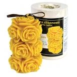 Forma silikonová Rozkvetlé růže 11,5 cm