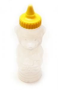 Obal na med MEDVÍDEK plastový na 400 g medu