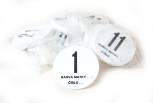 Čísla na úly kruhová 41 – 50