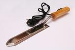 Nůž odvíčkovací el. s dřevěnou ručkou 25 cm 230 V
