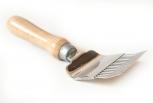 Vidlička odvíčkovací 17 lomených nerezových jehel