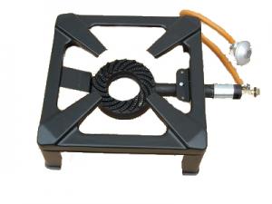 Plynový vařič čtvercový na 10 kg PB bombu