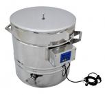 Stáčecí nádoba s ohřevem nerezová 55 litrů