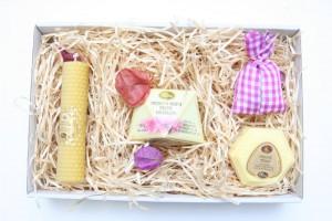 Provoněný medový balíček proti vráskám