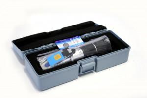 Refraktometr LED pro měření obsahu vody