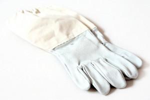 Rukavice kožené plátno s gumou vel. XL (10-11)