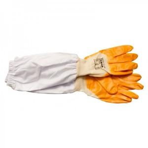 Rukavice textilní potažené dlouhé vel.10