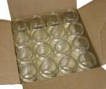Sklenice FACETTE 420ml bez víčka (96 ks)