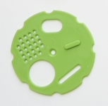 Česnový uzávěr kruhový průměr 80 zelený