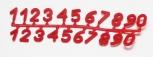 Čísla na úly SADA2