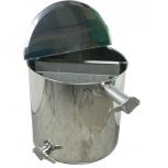 Čeřící a plnící nádoba na 60 kg  medu se síty PL