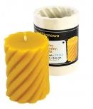Forma silikonová svíčka ozdobná nízká 8,5 cm