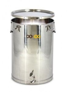 Stáčecí nádoba BE-EQ® nerezová 100 kg