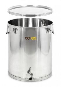 Stáčecí nádoba BE-EQ® nerezová 140 kg