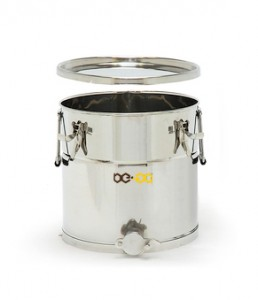 Stáčecí nádoba BE-EQ® nerezová 25 kg