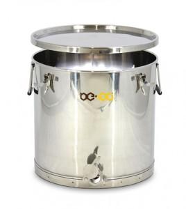 Stáčecí nádoba BE-EQ® nerezová 75 kg