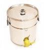 Stáčecí nádoba na 35 kg nerezová plastový kohout