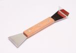 Rozpěrák s dřevěnou ručkou nerezový