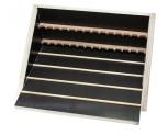 Stojan odkládací pro 14 rámků dřevěný